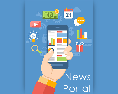 news portal development online news website portal development in